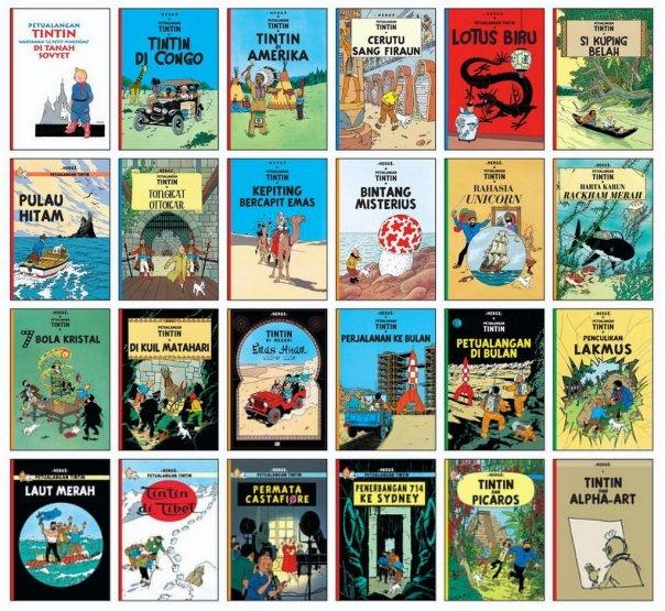 Book tintin pdf comic